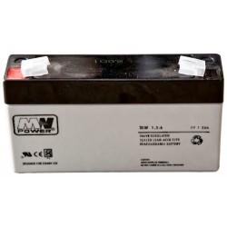 Akumulator MW1,3-6  (1,3Ah 6V)