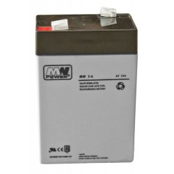 Akumulator MW5-6  (5Ah 6V)