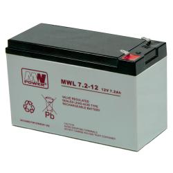 Akumulator MWL7,2 (7,2Ah...