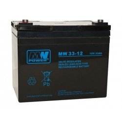 Akumulator MW33-12 (33Ah 12V)